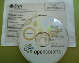 Live CD OpenSOlaris